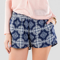 Belmont Printed Shorts