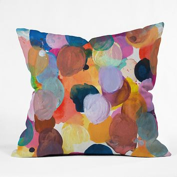 Kent Youngstrom pallet Outdoor Throw Pillow