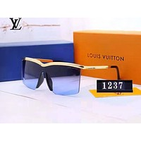 LV Louis vuitton sells polarised square frames for casual couples and trendy beach sunglasses and glasses