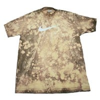 Vintage 90s Nike Air Bleached Shirt Mens Size Large