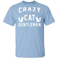 Crazy Cat Gentleman T-Shirt