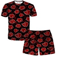 Akatsuki T-Shirt And Shorts Rave Outfit