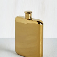 Luxe Taste of Luxury Flask by ModCloth