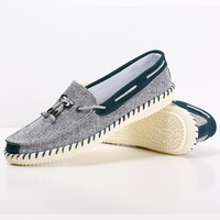 New 2017 Summer Canvas Shoes Men's Casual Shoes Breathable Men Loafers Comfortable Ultralight Lazy Boat Shoes Flats
