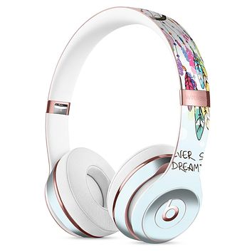 Never Stop Dreaming Watercolor Catcher Full-Body Skin Kit for the Beats by Dre Solo 3 Wireless Headphones
