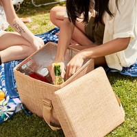 Basket Print Insulated Cooler | Urban Outfitters