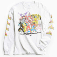 Power Rangers Long Sleeve Tee - Urban Outfitters