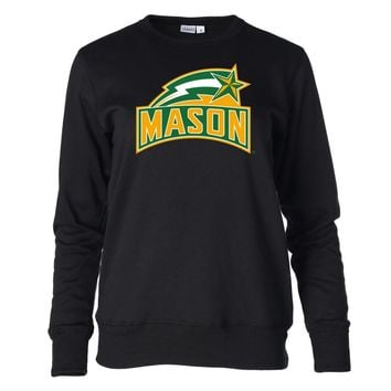 Official NCAA George Mason Patriots PPGMU02 Women's Fleece Crew Neck Sweatshirt