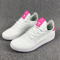 ADIDAS MESH Casual Sports Shoes pink-white H-CSXY