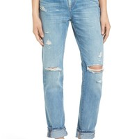 Madewell Perfect Vintage Destroyed High Rise Boyfriend Jeans (Chet)   Nordstrom