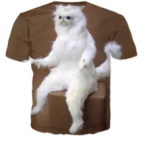 Weird Cat T-shirt