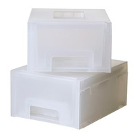 KUPOL Pull-out storage unit, white - IKEA
