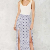 The Pacific Maxi Skirt