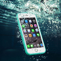 Beach Holiday Waterproof Case Cover for iPhone 6s Plus / iPhone 6 Plus Free Shipping + gift box