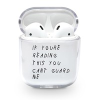Cant Guard Me Airpods Case