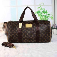 ONETOW Day-First? LV Women Travel Bag Leather Luggage Travel Bags Tote Handbag