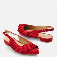 VIENNA Ruffle Sandals - New In Fashion - New In