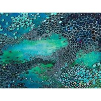 Blue Water Giclee Canvas