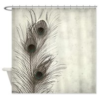 Peacock Feather Shower Curtain on CafePress.com