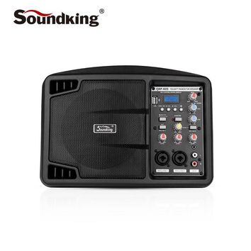 Soundking 5 inch active monitor speaker Professional indoor and outdoor performance recording monitor, Support Bluetooth QRP-K09