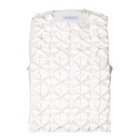 J.W. Anderson - Crop Top with Bow Panel
