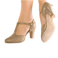 "So Danca CH57 2 1/2"" Suede Sole Character Shoe"