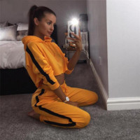 "Women's Tracksuit Set - ""Crop"""