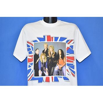 90s Def Leppard 7 Day Weekend Tour Rock Band t-shirt Large
