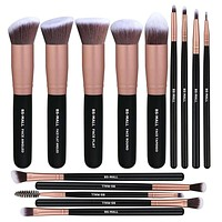 Makeup Brush( 14 Pcs Rose Golden)Sets