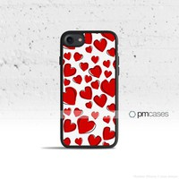 Love Hearts Case Cover for Apple iPhone & iPod Touch