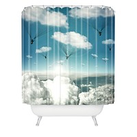 Belle13 Rain Bringers Shower Curtain