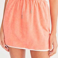 BDG Dolphina Terry Mini Skirt - Urban Outfitters