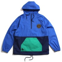 Navigator Cotton Windbreaker Navy / Multi