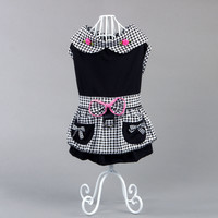Free Shipping Pet Dog Clothes Dress Spring Summer Clothing For Dogs Pet Products Cute Fashion Chihuahua Clothing Teddy Yorkie