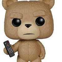 Funko Pop Movies: Ted 2 - Ted With Remote Vinyl Figure