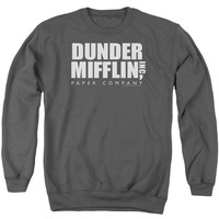 The Office - Dunder Mifflin Adult Crewneck Sweatshirt Officially Licensed Apparel