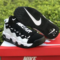 Sneaker Room x Nike Air More Money QS Black/White Shoe 36--45