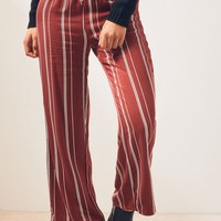 Kendall and Kylie Tie Waist Striped Pants | PacSun