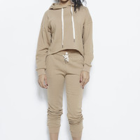 College Days 2-Piece Track Suit- Antelope