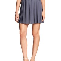 Banana Republic Womens Factory Knife Pleat Mini Skirt