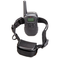 Waterproof 300M 100LV LCD Remote Dog Pet Training Collar Shock Vibrate for 1 Dog H9378US = 1651243076