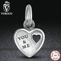 Year You & Me Heart Dangle Romantic Lovely Warm Charm Bracelet