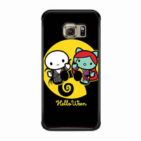 Hello kitty nightmare before Christmas FOR SAMSUNG GALAXY S6 EDGE CASE *PS*