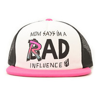Volcom Girls Shhh It's A Hat Rad Influence Trucker Hat