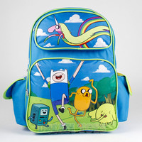 "Adventure Time Backpack - Lady Rainicorn 16"" Large Boys Girls School Book Bag"