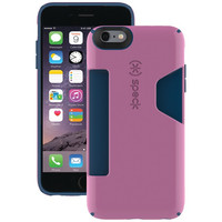 SPECK SPK-A3215 iPhone(R) 6 Plus/6s Plus CandyShell(R) Card Case (Beaming Orchid Purple/Deep Sea Blue)