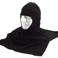 Black Polypropylene Balaclava with Dickie