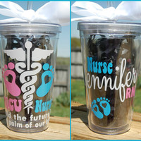 NICU Nurse tumbler  - 16oz Personalized acrylic