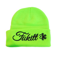 Solid Knit Beanie SP12