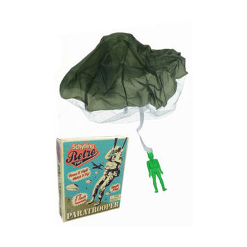 Retro Paratrooper